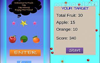 Zoo fruit tap