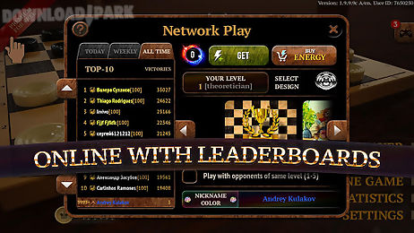 Checkers elite Android Game free download in Apk