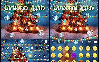 Christmas lights keyboardcolor