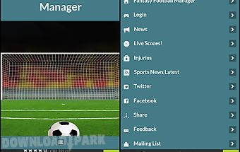 Fantasy football manager