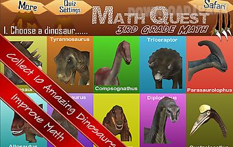 Math quest quiz third grade 3