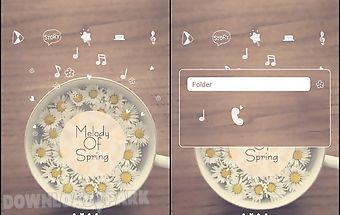 Melody of spring dodol theme