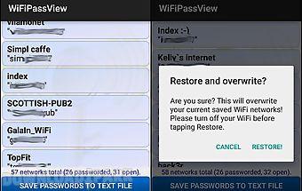 Wifi passview password viewer