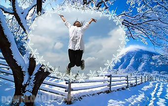 winter photo frames - Winter Photo Frames