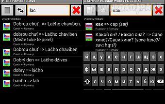Dictionary gibsy roma en cz ru
