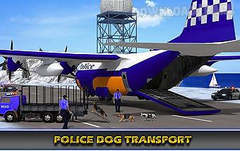 Police airplane transporter