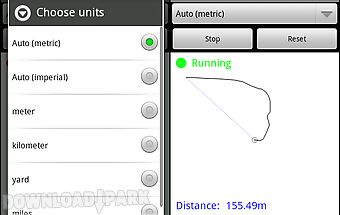 Distance and area measurement