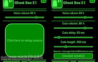 Ghost box e1 spirit evp