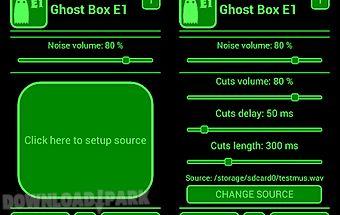 Ghost box e1 spirit evp
