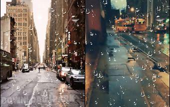Rainy drop live wallpaper free