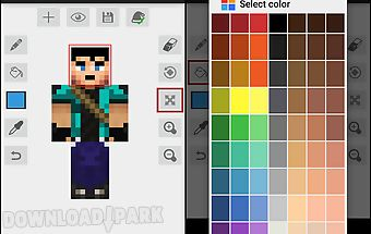 Skin Editor For Minecraft Pe Android Anwendung Kostenlose