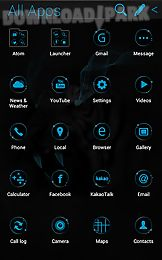 wild light atom theme
