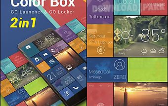 (free) color box 2 in 1 theme