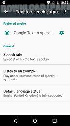 google text-to-speech