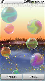 nicky bubbles live wallpaper l