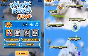 Snow bros jump