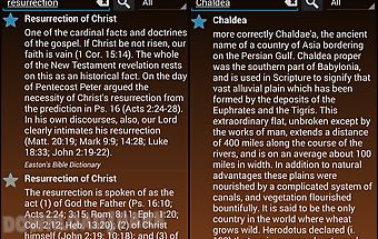 The bible dictionary® offline