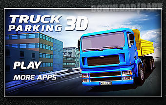 Truck parking 3d simulator