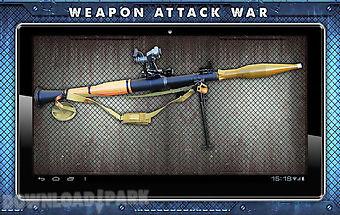 Weapon attack war