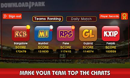 World cricket: i p l t20 2016 Android Game free download in Apk