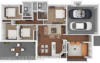 3d home floor plan designs