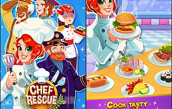 Chef rescue - management game