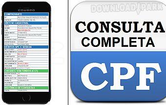 Consultar cpf dívidas