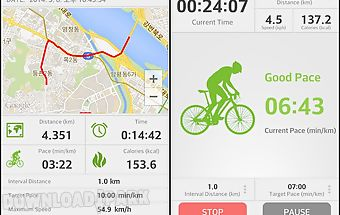 Exclo gps cycling bicycle