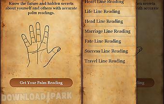 Palm reading - fortune teller