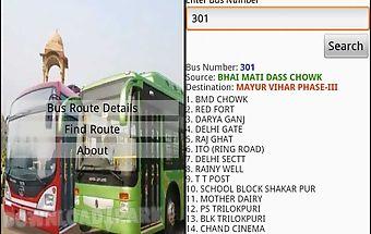 Delhi bus guide