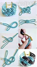 diy rope art handmade