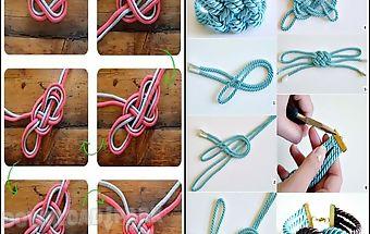 Diy rope art handmade