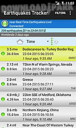 earthquakes tracker