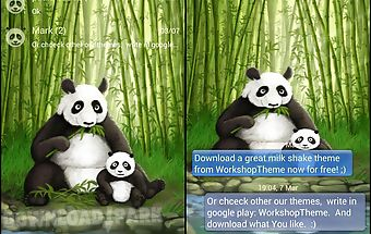 Go sms pro theme panda
