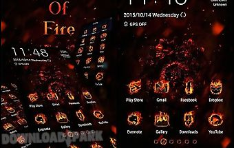 Legend of fire zero launcher