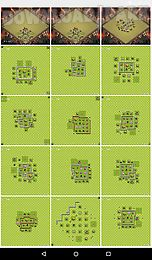 maps of clash of clans online