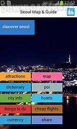 seoul offline map guide flight
