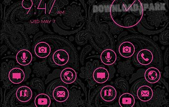 Stamped pink sl theme