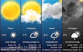 Weather for ukraine