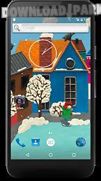 winter town live wallpaper