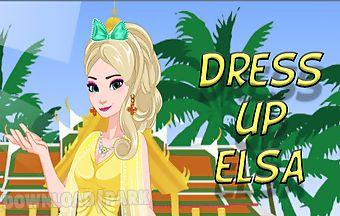 Dress up elsa to rest