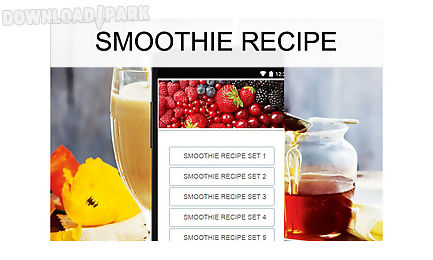 smoothie recipes food