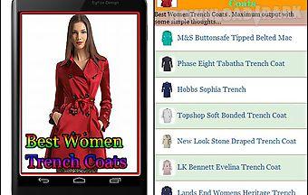Best women trench coats