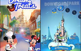 Disney: dream treats. match swee..