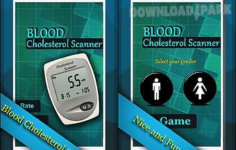 Finger blood cholesterol prank