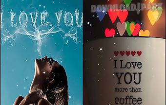 I love you by live wallpapers ul..