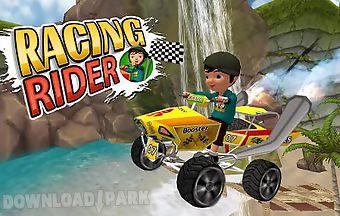 Racing rider
