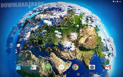 Space Clouds 3d Android Animiert Hintergrundbild Kostenlose