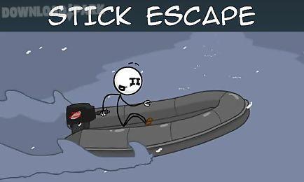 stick escape: adventure game