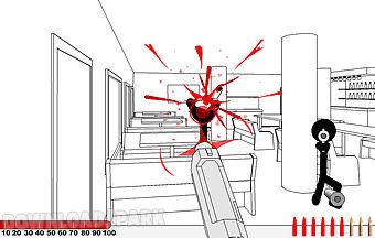 Stickman gunfire-sniper hero gam..